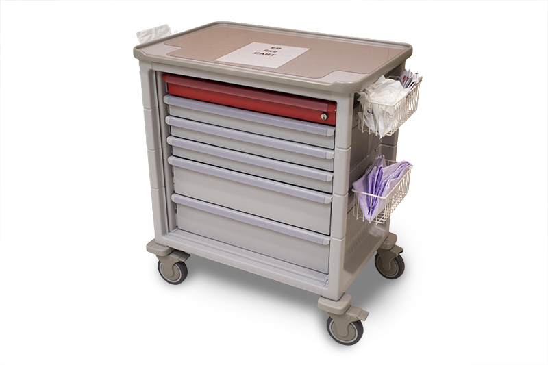 Emergency Department Cart