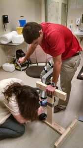 Build Team assists orthopedic dislocation trainer team